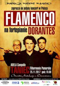 Dorantes- plakat Fundacja Duende Flamenco www.fdf.art.pl
